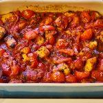 Schwertfisch in Tomatensauce