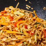 Vegetarisches Pad Thai