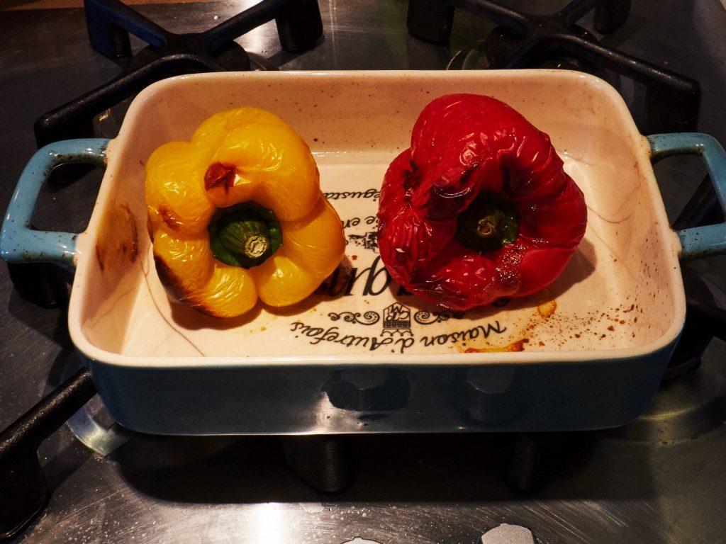 Bruschetta gegrillte Paprika