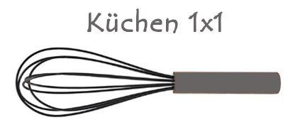 Neue Rubrik: Küchen 1×1