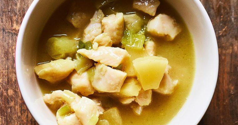 Fisch Curry mit Früchten